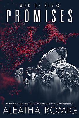 Promises (Web of Sin #3) by Aleatha Romig