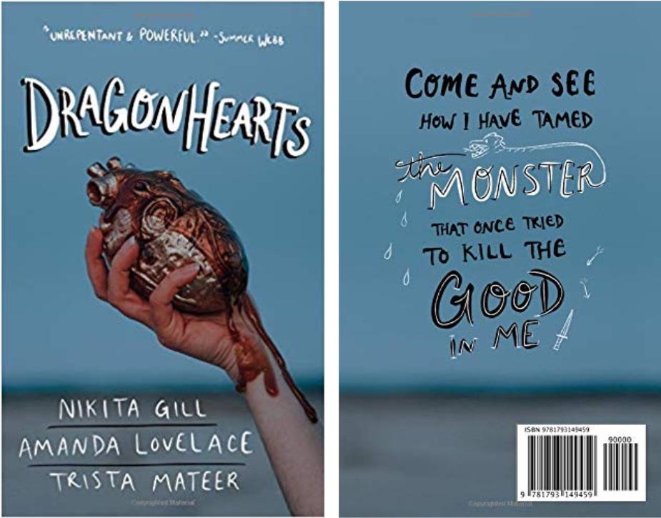 Dragon Hearts by Nikita Gill, Amanda Lovelace, and Trista Mateer
