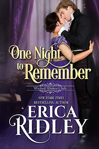 One Night to Remember by Erica Ridley