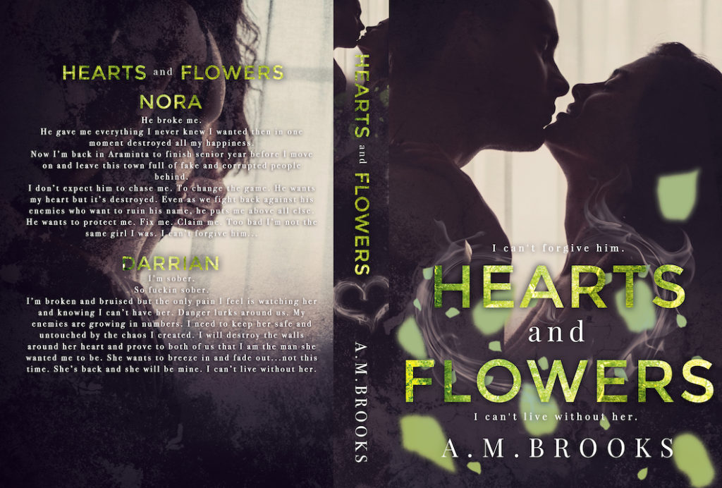 Hearts and Flowers by AM Brooks