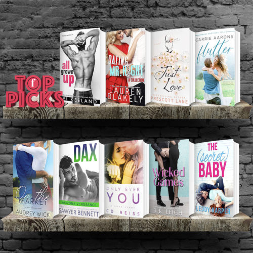 Contemporarily Ever After: Top Picks for the Week of July 7th