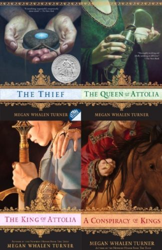 Queen's Thief series by Megan Whalen Turner